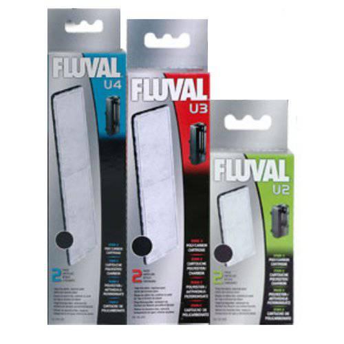 Carga filtrante de carbón para Filtro Fluval U