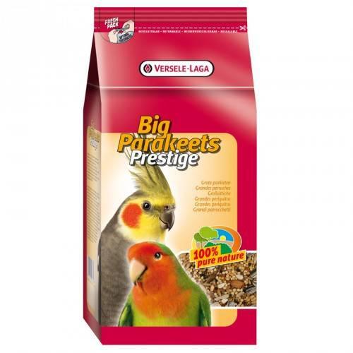 Versele laga Prestige big parakeet Stand up ninfas y agapornis